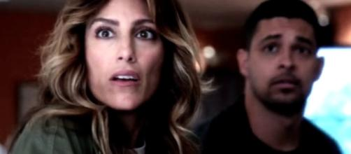 "Jennifer Esposito has confirmed that her character will no longer be appearing in ""NCIS"" Season 15. Photo by Carlene Edits/Youtube Screenshot"