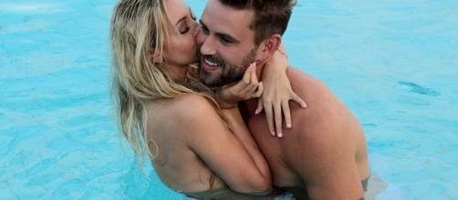Nick Viall with Corinne - Screenshot