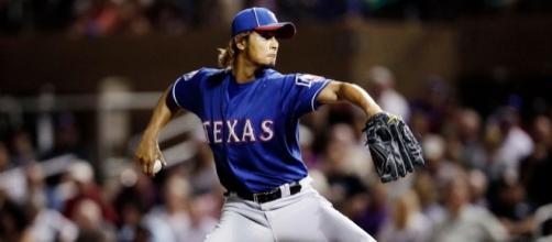 Rangers pitcher Yu Darvish-Blogger