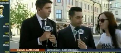Reporteros de Fox en Rusia en confederaciones