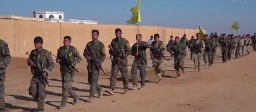 SDF fighters pushes into Raqqa after months of preparation - Wikimedia commons