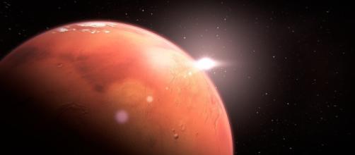 Tech giant Elon Musk plans to build a city on Mars Source: Pixabay