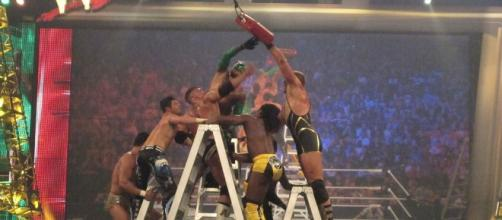 "The ""Money in the Bank"" 2017 pay-per-view features two ladder matches this year. [Image via Wikimedia Commons]"