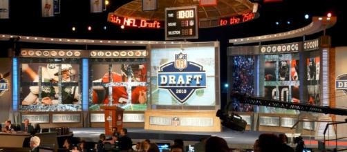 The set for the 2010 NFL Draft at Radio City Music Hall/ creative commons via wilimedia