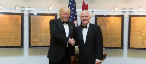 U.S president Donald Trump and Australian PM Malcolm Turnbull met for a bilateral talk. (Wikimedia/Shealah Craighead)