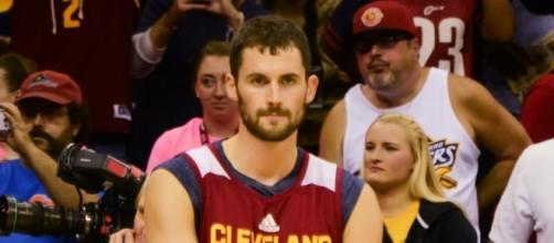 Will the Cavaliers say goodbye to Kevin Love? - Photo via Erik Drost/Wikimedia Commons - commons.wikimedia.org