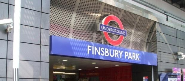 Finsbury Park Underground Station / Photo via Sunil060902, Wikimedia Commons