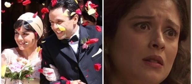 Il Segreto, trame luglio: Carmelo e Mencia sposi, Candela sta male