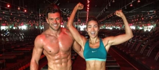 Lisandra Silva y Leandro Penna entrenan para la gran final / Instagram: @lisandrasilva