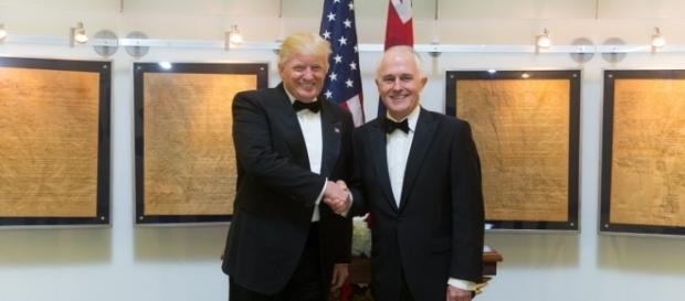 U.S president Donald Trump and Australian PM Malcolm Turnbull met for a bilateral talk. (Wikimedia/Shealah Craighead)