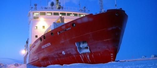 CCGS Amundsen in the high Arctic - Canadian Coast Guard via Flicker