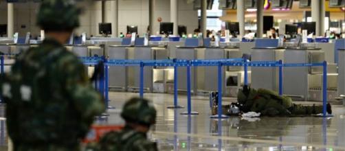 Explosion à l'aéroport de Shanghai, quatre blessés