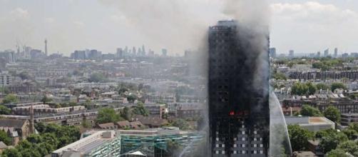 Imagen de la torre Grenfell, Londres