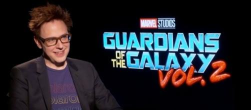"""James Gunn, director of """"Guardians of the Galaxy' sequel, shared about """"Scooby Doo's"""" rating as Rated R. Photo -YouTube/Marvel"""