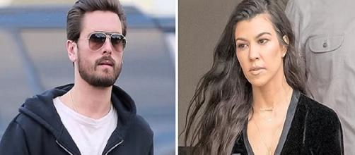 Kurtney Kardashian and Scott Disick / Photo via Hollywood Buzz , YouTube