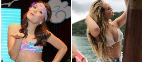 Larissa Manoela realmente cresceu. ( Foto Reprodução)