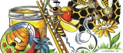 Les abeilles, menacées d'une disparition totale suite à l'action des insecticides et pesticides, indissociable du miel dont les enfants raffolent