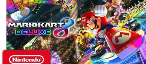 """Mario Kart 8 Deluxe"" is again number one on the Japanese weekly charts (via YouTube/Nintendo)"