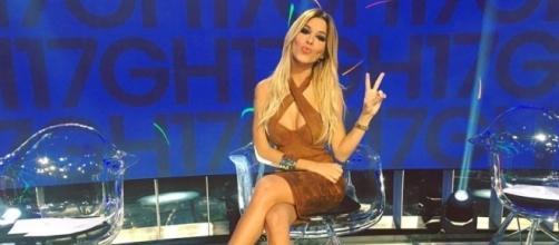 Oriana Marzoli en el plató de Gran Hermano / Instagram: @orianagonzalezmarzoli