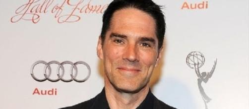 "Thomas Gibson as Hotch in ""Criminal Minds"" - Photo by Entertainment Tonigh/YouTube"