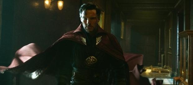 "Benedict Cumberbatch plays Stephen Stranger in last year's ""Doctor Strange."" (image source BN library)"