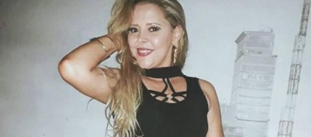 Cantora morreu em acidente de carro em Aracajú. (Foto Internet)