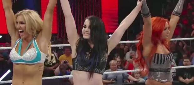 Former WWE Divas Champion Paige could be returning to 'Raw' in the near future. [Image via YouTube/WWE]