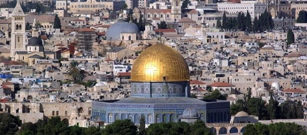Jerusalem Dome of the Rock (Wikimedia Berthold Werner public domain)