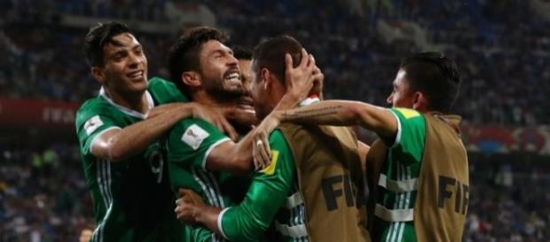 La cara de la remontada de México contra Nueva Zelanda en la Copa... - univision.com