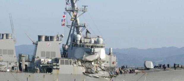 Search on for 7 Navy crew after ship damaged in collision ... - chron.com
