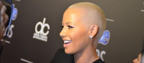"Amber Rose says she has not slept with anyone after split with 'DWTS"" co-contestant. (Wikimedia/Mingle Media TV)"