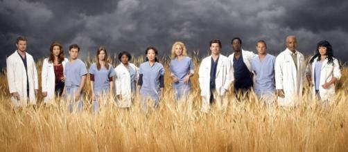 "Cast of ABC's medical drama ""Grey's Anatomy"""