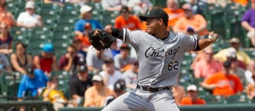 Chicago White Sox picture Jose Quintana is coveted by several MLB teams. [Image via Keith Allison/Flickr]