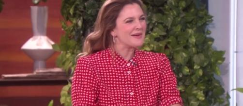 Drew Barrymore happily moving on with a new man. Photo via YouTube/TheEllenShow