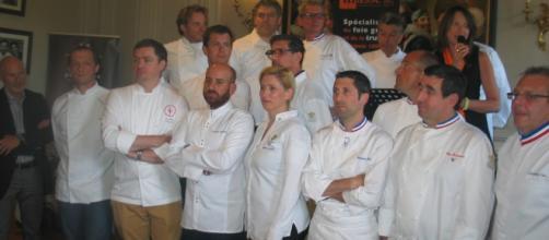 Le jury du célèbre trophée Masse a réuni chez Paul Bocuse, autour de Régis Marcon et de Sabine Masse, des grands chefs totalisant 76 étoiles