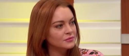 Lindsay Lohan confirms her return on TV for a British sitcom. Photo via YouTube/GoodMorningBritain
