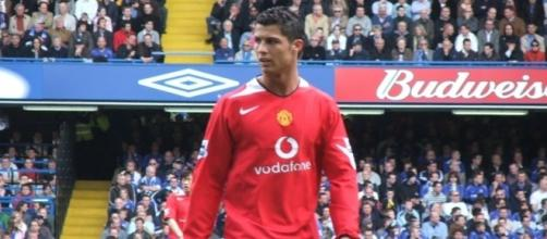 Will Cristiano Ronaldo head back to Manchester United?/Photo via Ray Booysen/Wikimedia Commons