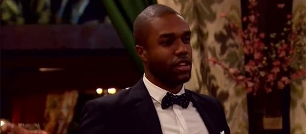 """DeMario Jackson is in the middle of the """"Bachelor in Paradise"""" controversy. (YouTube/ABC)"""