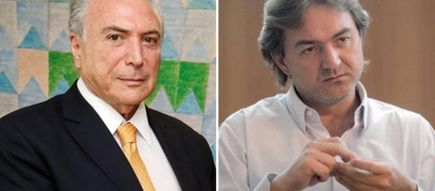 Presidente Michel Temer decidiu processar o empresário Joesley Batista, baseado em acusações ditas pelo empresário à imprensa