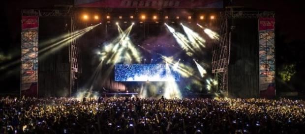 Una foto scattata durante una delle serate degli iDays di Monza