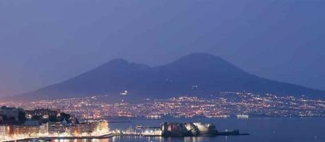 Napoli, il centro storico: veduta panoramica.