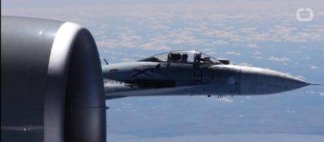Photos Released of Russian Jet/US Aircraft Incident -YouTube/Wochit News