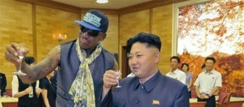 Dennis Rodman is 'having fun' in North Korea at the expense of (Photo source - BN library)
