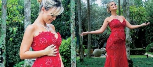 Eliana enfrenta gravidez de risco