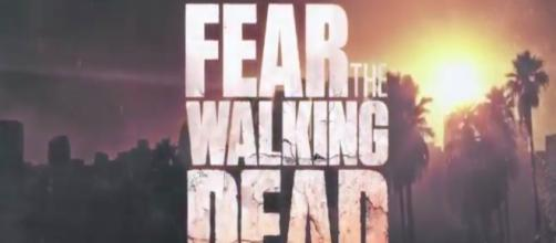 Fear The Walking Dead tv show logo image via a Youtube screenshot by Andre Braddox