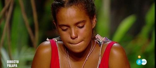 Gloria Camila cambia de táctica en Supervivientes.
