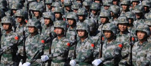 Image - Chinese-soldiers-marching-in-formation.jpg | Homefront ... - wikia.com