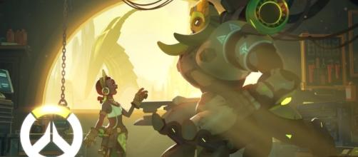 """In Blizzard's hit shooter title """"Overwatch,"""" Orisa is deemed as an anchor tank (via YouTube/PlayOverwatch)"""
