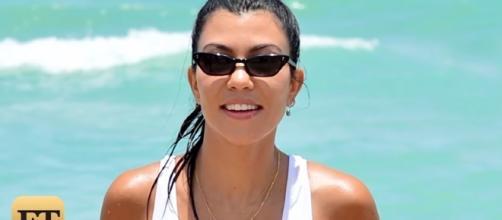 Kourtney Kardashian/ Screencap Entertainment Tonight via Youtube