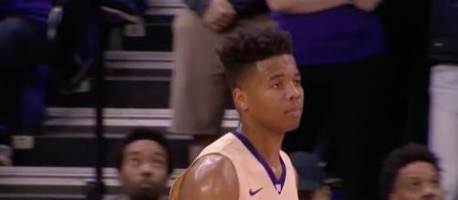 Markelle Fultz adds another young start to a talented lineup in Philadelphia. [Image via UW Athletics/YouTube]